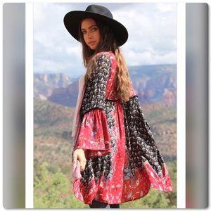 Fabulous Patchwork Kimono Wrap by ANGIE